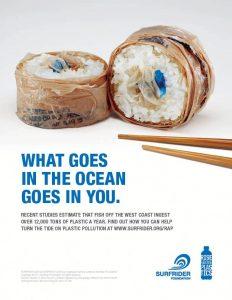Sushi dari plastik